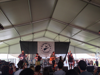 Decemberists and Laura Veirs
