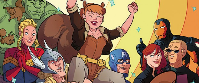 Unbeatable Squirrel Girl 1