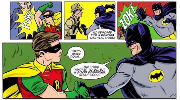 batman 66 shake