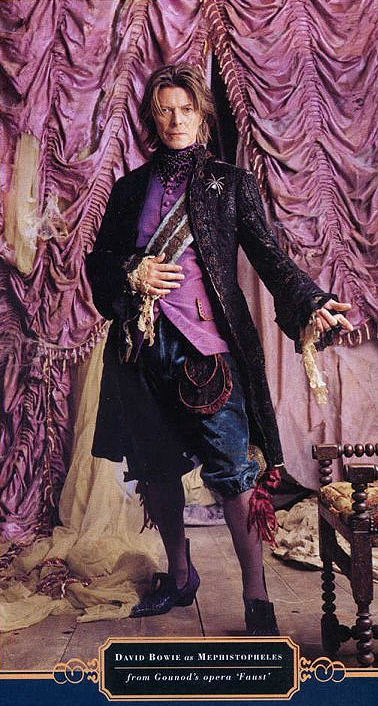 Bowie as Mephistopheles