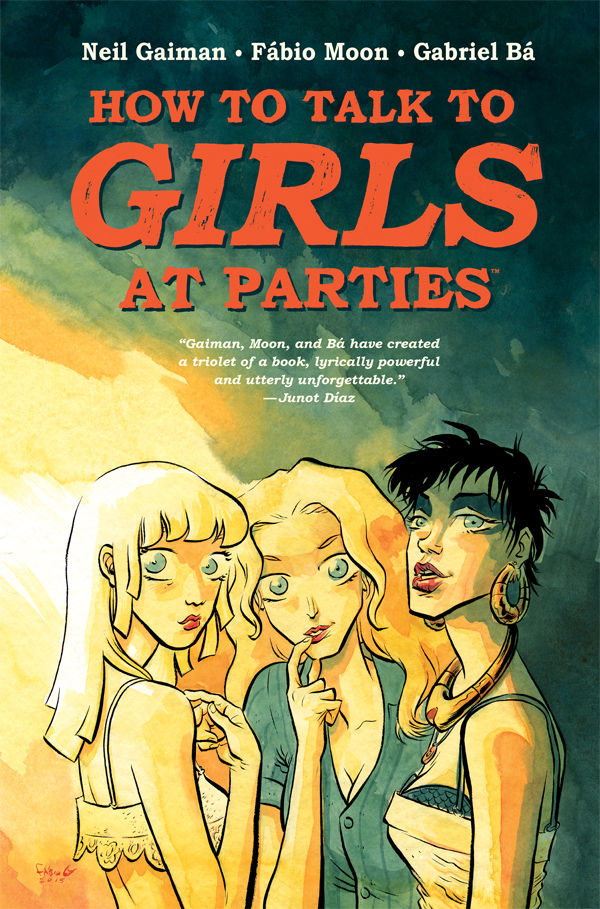 How to Talk to Girls at Parties Comic