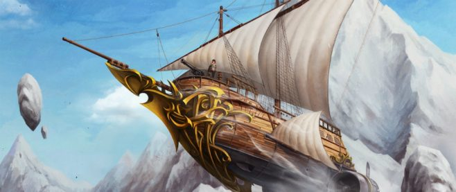 Flying Pirate Ship Feature Image