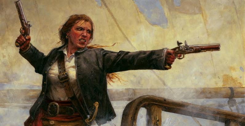 Grainne Female Pirate