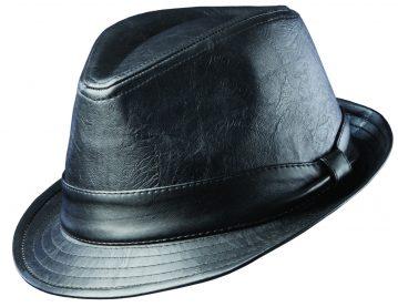 dorfman-pacific-faux-leather-fedora-4