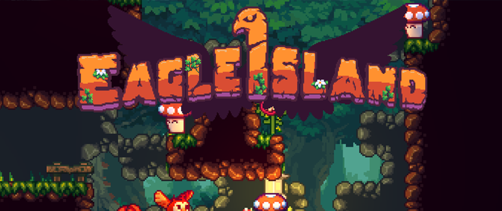 Title screen from Eagle Island