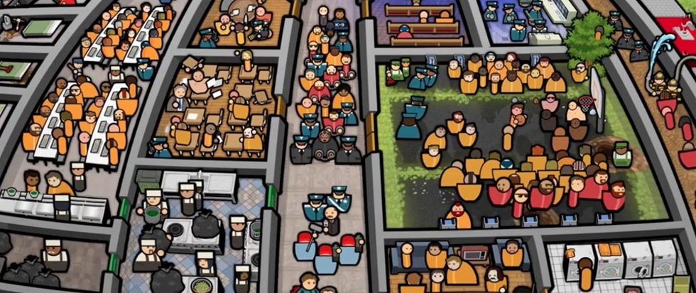 screenshot of prison architect.