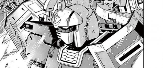Still from Mobile Suit Gundam Thunderbolt Vol. 4
