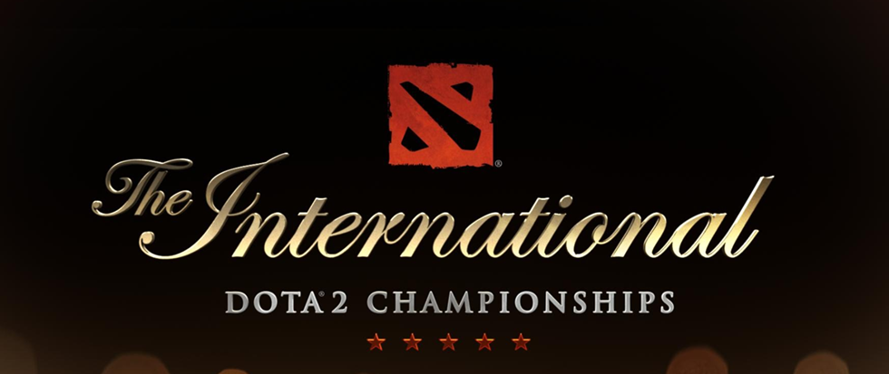 Text that reads The International Dota 2 Championship