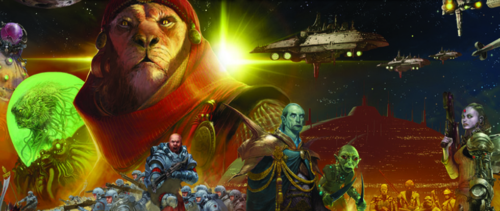 The cover art for the game Twilight Imperium.