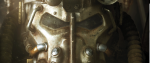 A grim face mask from the game fallout - -this is the cover for the board game Fallout.