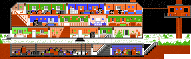 Home Alone (NES) screenshot.
