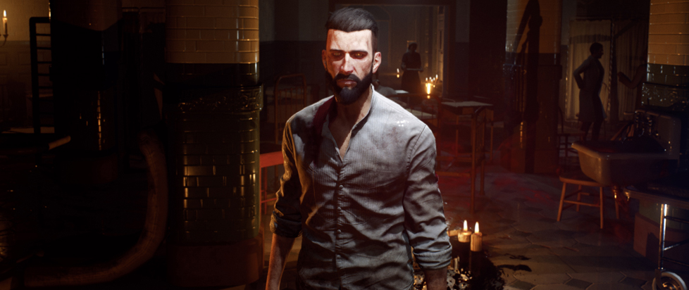 A screenshot of Vampyr.