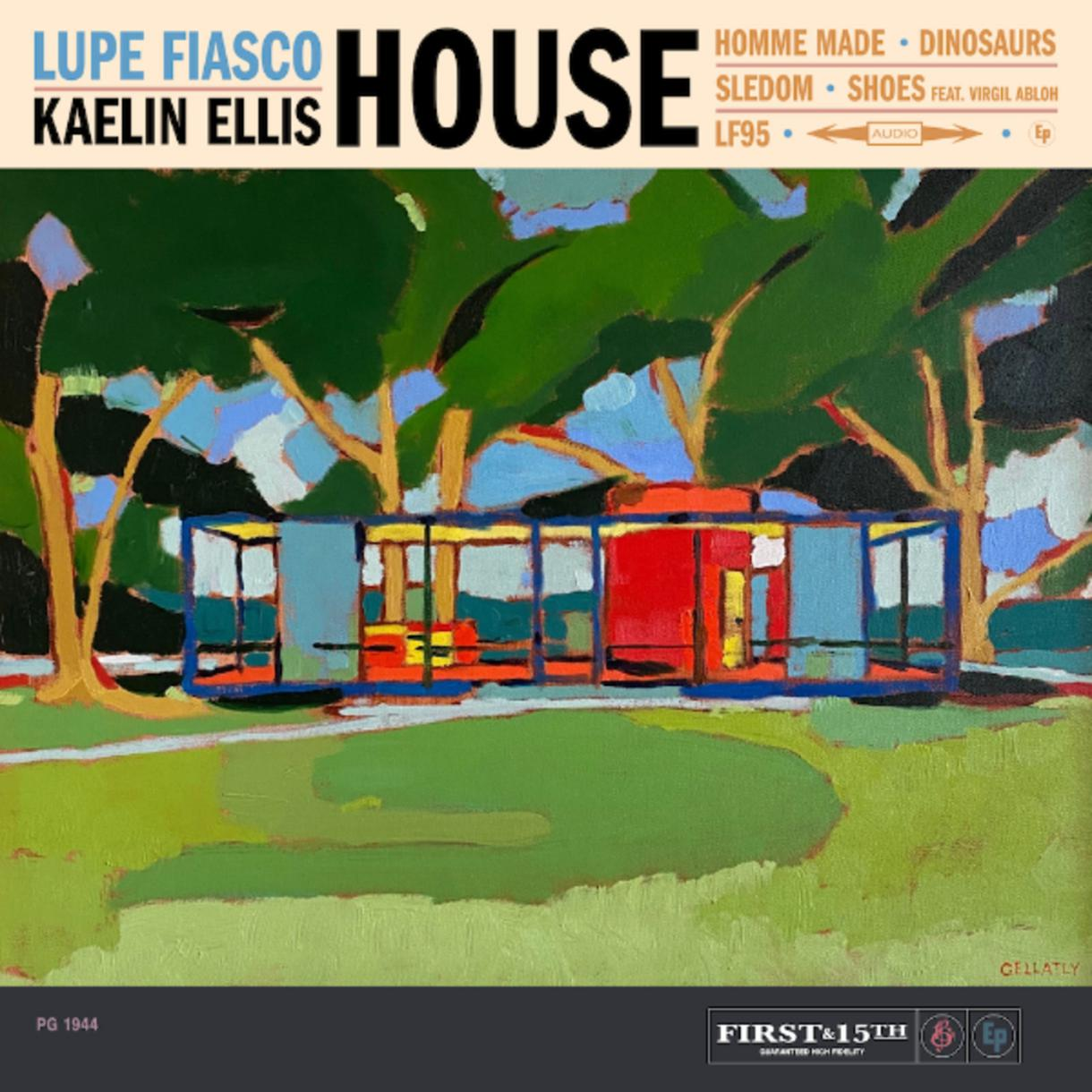 Lupe Fiasco and Kaelin Ellis Share New Collab EP 'HOUSE' | Complex