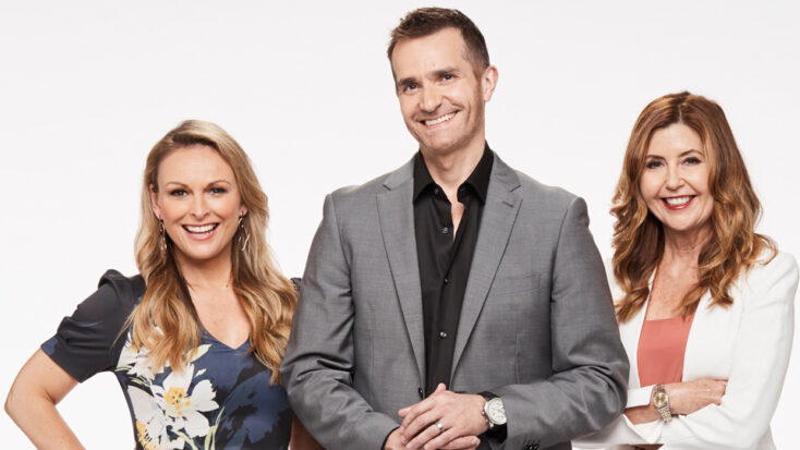 A group shot from Married at First Sight: Australia.
