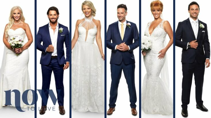 A group of people from Married at First Sight: Australia.