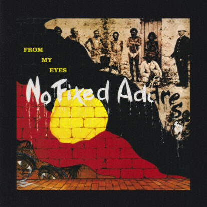 The album cover from No Fixed Address.