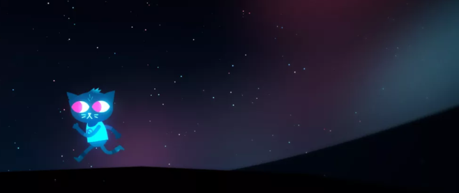 a shot of Mae from the game Night in the Woods