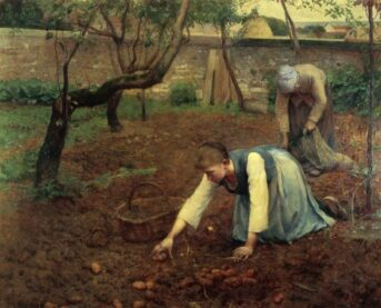 Potato Gatherers by Robert Weir Allan