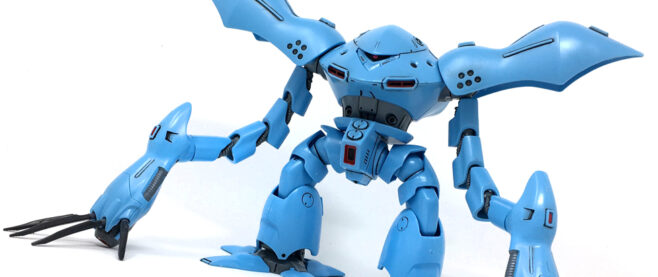 a Hygogg type mobile suit from Mobile Suit Gundam