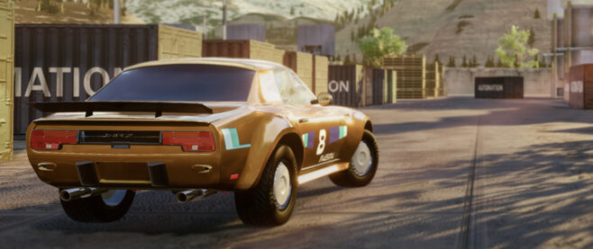 A picture of a sports car in the game Automation