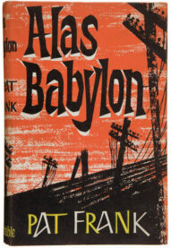 A cover for Alas, Babylon by Pat Frank