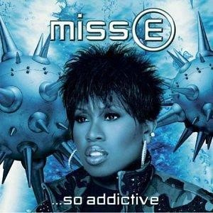 The album cover for Miss E...So Addictive by Missy Elliot.