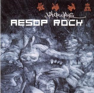 The album cover for Labor Days by Aesop Rock.