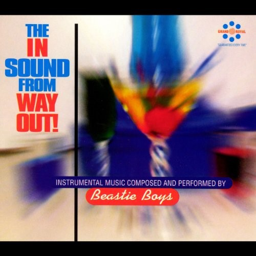 The cover from The In Sound From Way Out by the Beastie Boys.