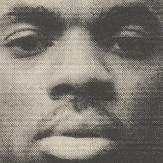An extreme closeup of Vince Staples for the cover of his self titled album.