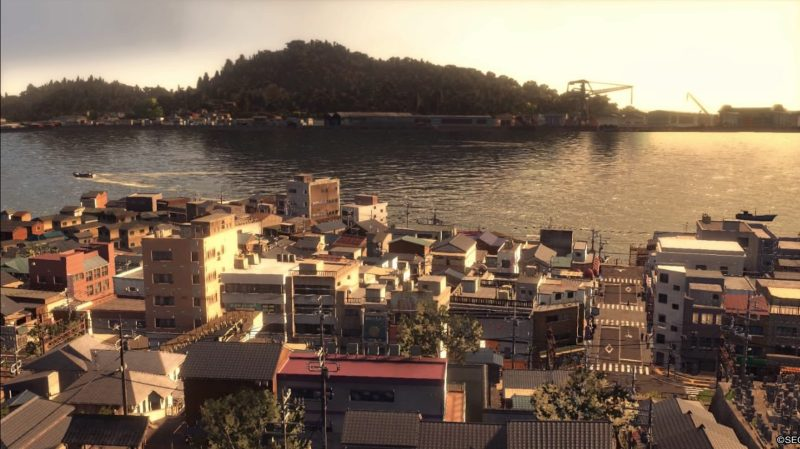 A wide view of the sleepy Onomichi