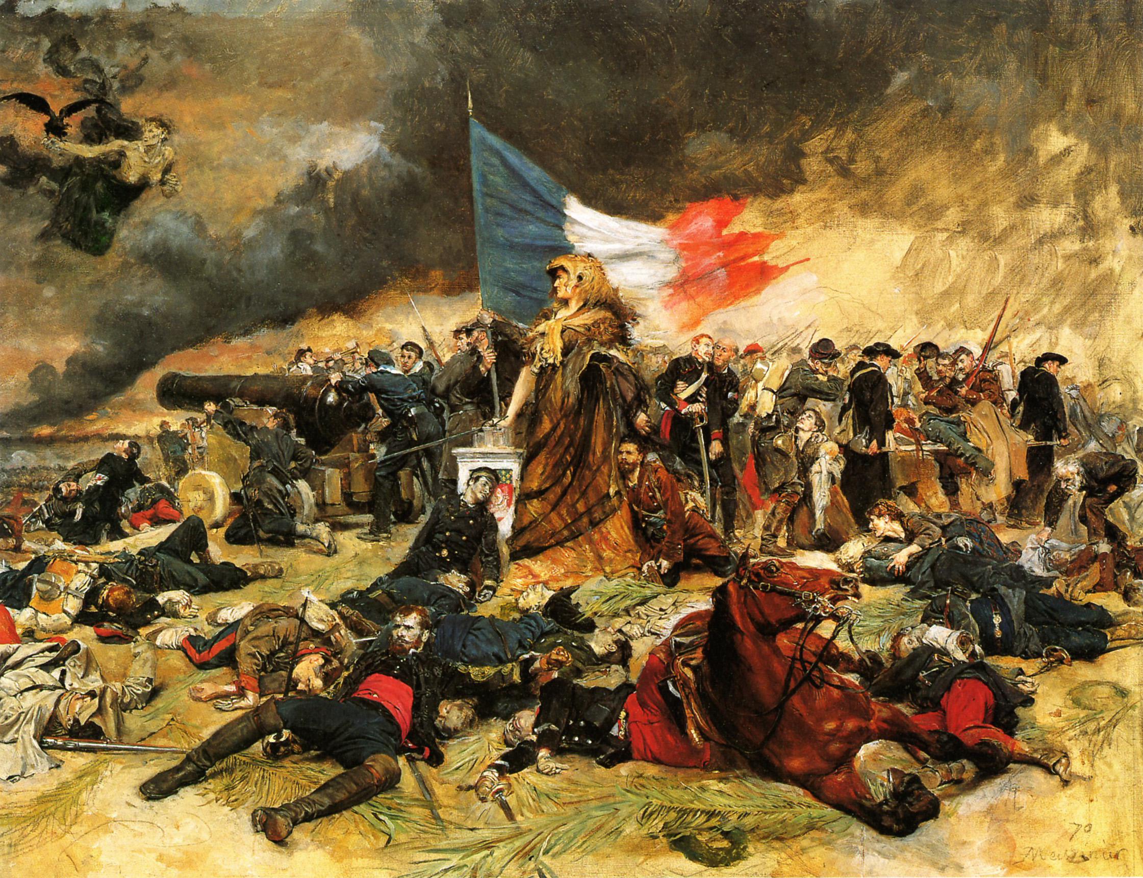 A painting from the French Revolution.