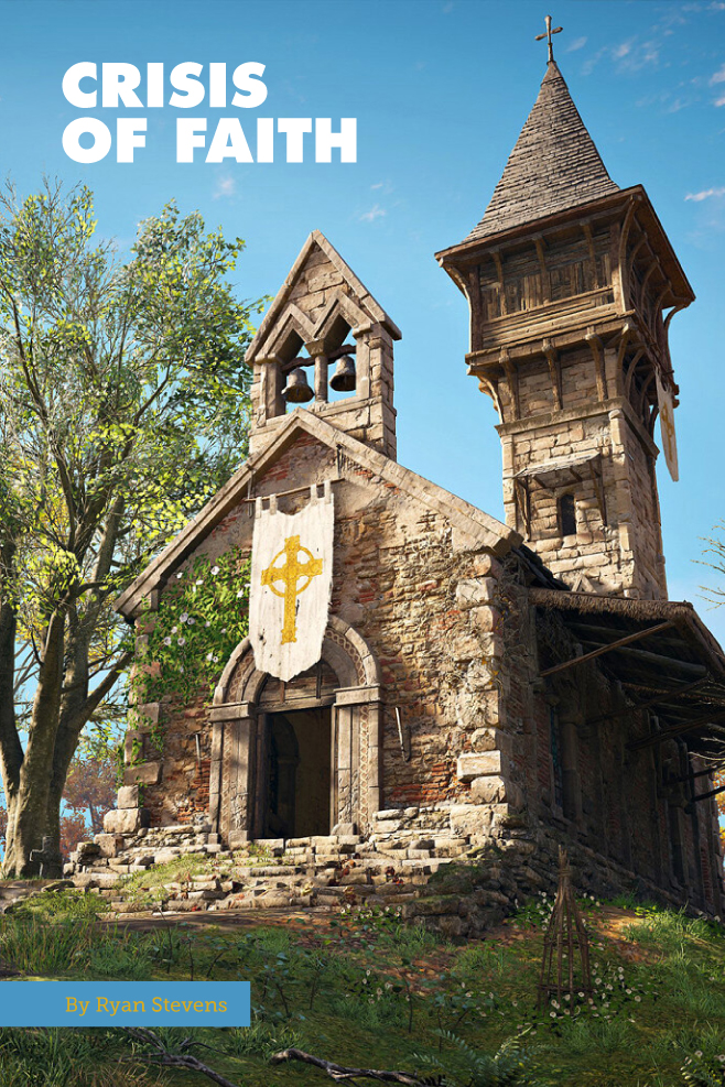 An English church from Assassin's Creed Valhalla